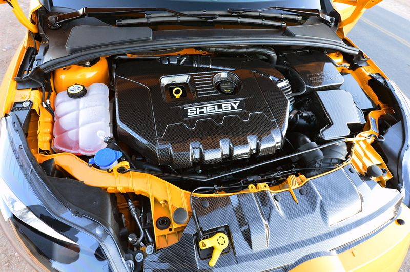 Shelby Massages Focus St Production Limited To 500 Units A Year