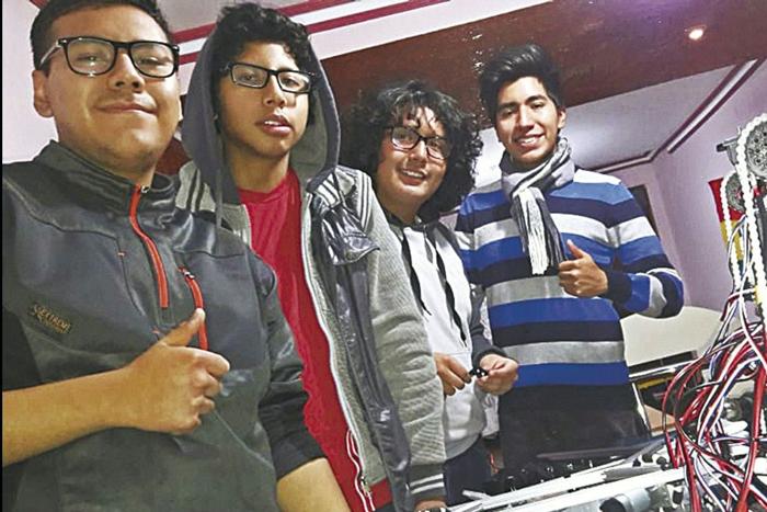 Un tupiceño conforma el Team Bolivia para el Mundial de Robótica