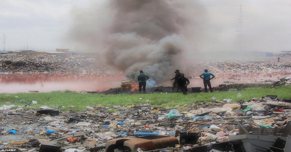 Ô nhiễm môi trường với rác thải điện tử
