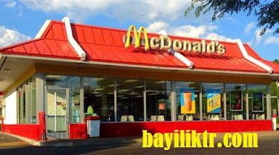 McDonald's Bayilik Şartları