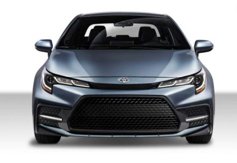Toyota Corolla 2020 Front View