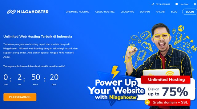 Promo Hosting Murah NIagahoster September 2019 - niagahoster.co.id