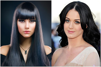 Hair Color Dark Black - List of Blond and Brown Hair Color for All Skin Types