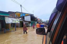 9.245 KK Terdampak Banjir Akibat Bendungan di 4 Kecamatan di Bima Meluap