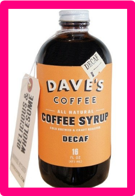 Decaf Coffee Syrup