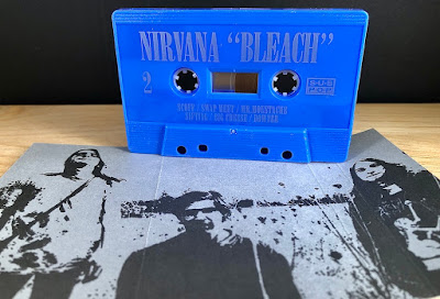 """:: UPDATED FROM 2/13/21:: (New Offer!) - Following Tapehead City's Valentine's Day """"Love Buzz Red"""" Reissue Of Nirvana's 'Bleach'Success... Another Limited-Edition To Reprint, """"The Blew"""" Edition. Out March 22nd!"""