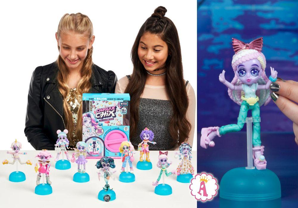 Конструктор игрушка для девочек Capsule Chix Ctrl+Alt+Magic
