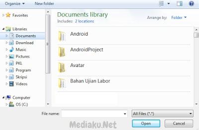 Kirim Lampiran (Attachment) File Di Yahoo