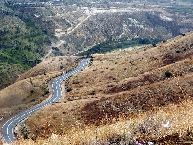 כביש 98 חמת גדר דרום רמת הגולן