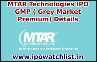 MTAR Technologies GMP