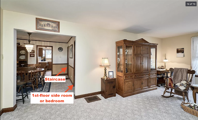 color views of dining room and living room inside Sears Silverdale, 111 Cuivre St Old Monroe MO