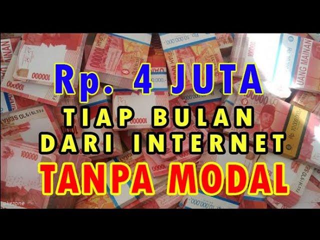 mencari uang di internet