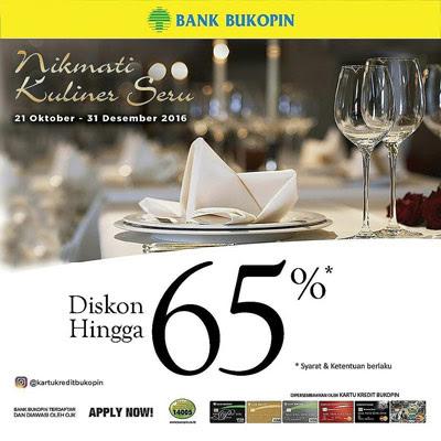 Nikmati Kuliner Seru Diskon Hingga 65% Bank Bukopin – Lampung
