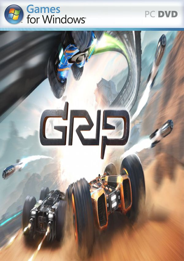 GRIP Combat Racing PC Cover