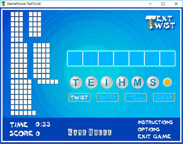 Text Twist free download Windows 10