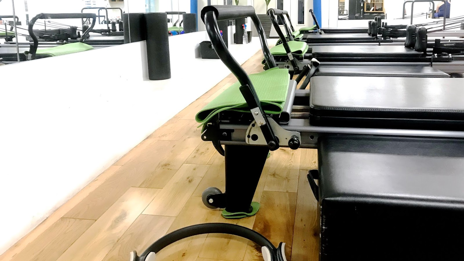 Pilates reformers and equipment