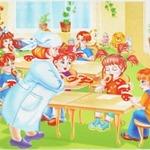 Еда в детском саду - коллекция стихов