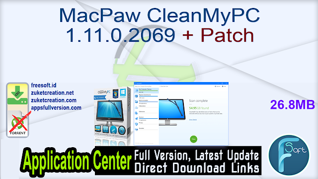 MacPaw CleanMyPC 1.11.0.2069 + Patch