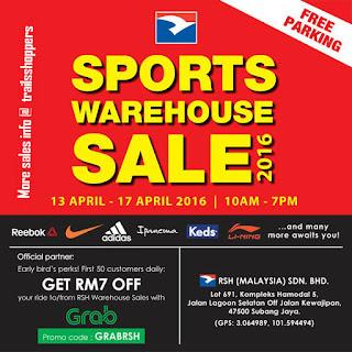 RSH Sports Warehouse Sale 2016