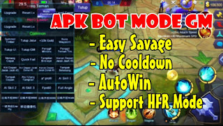 DOWNLOAD MOD MOBILE LEGENDS MODE GM & BOT CLASSIC