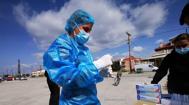 Καθημερινά rapid test από την ΚΟΜΥ Αργολίδας στο Ναύπλιο