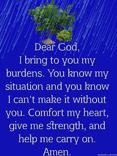God's love and comfort are my strengths.