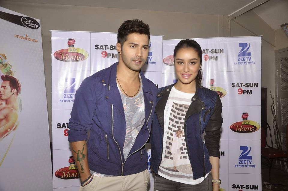 Shraddha Kapoor and Varun Dhawan on Zee Dance India Dance Super program