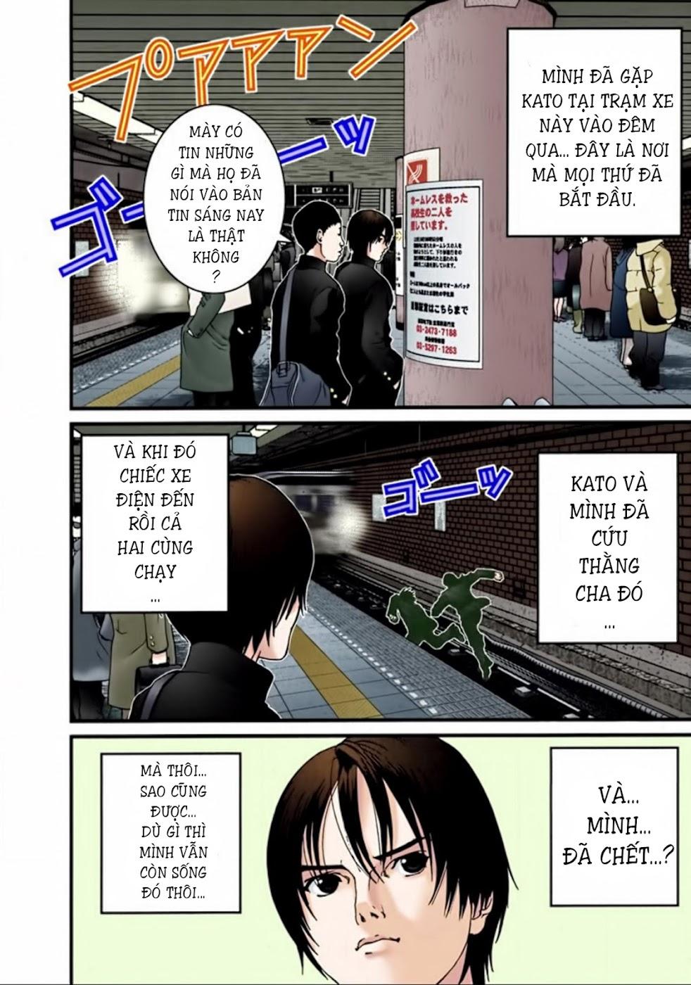 Gantz Chap 25: Người may mắn trang 4