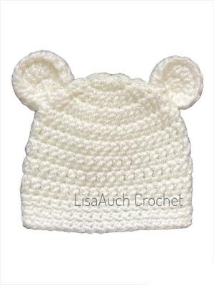 crochet newborn hat pattern free