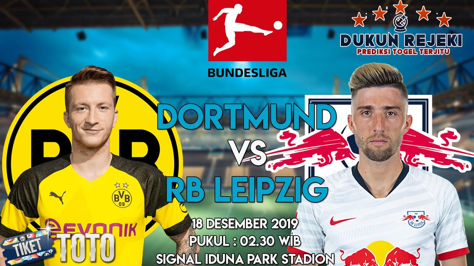 Prediksi Borussia Dortmund vs RB Leipzig 18 Desember 2019