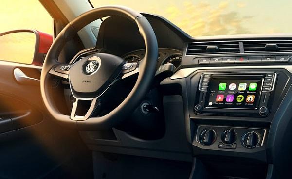 Interior Volkswagen Gol 2016