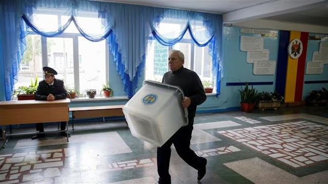 People in Moldova voting in first presidential election in 20 years