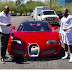 Floyd Mayweather Buys Himself A Bugatti Grand Sport Convertible Worth $3Million Ahead Of His Fight