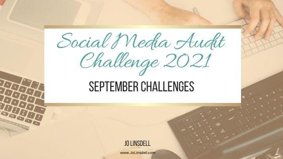 《2021年社交媒体审计挑战:9月挑战》(YouTube)