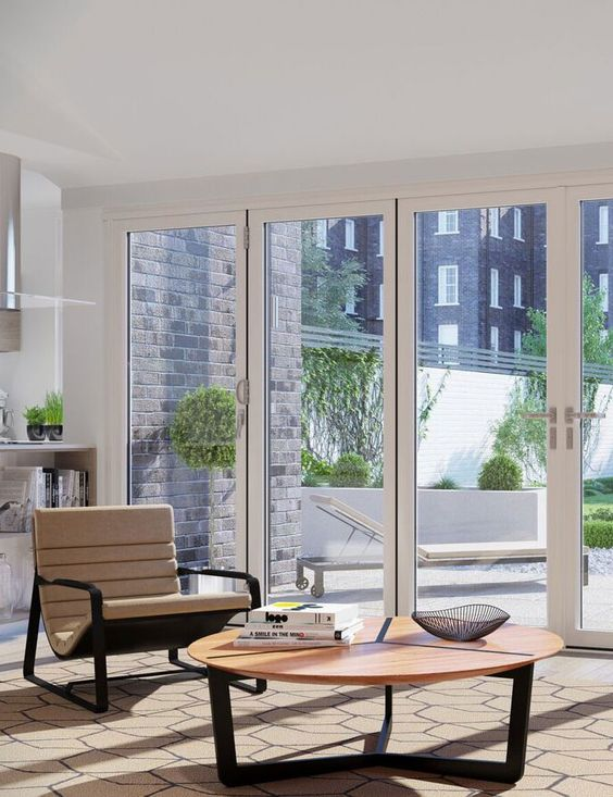 ultra modern quickslide patio doors