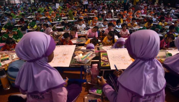 Lomba Mewarnai Nasional Standardpen Kenalkan Anak Keragaman Budaya