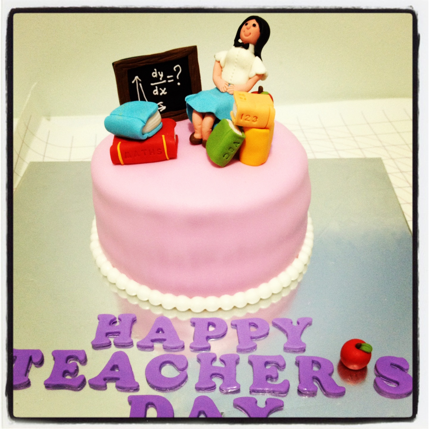 Pin Math Teacher Retirement Cake For The Of A At Cake On