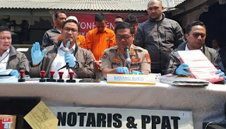 Ditreskrimum Polda Metro Jaya OTT, 4 Mafia Properti Berkedok Notaris Diamankan