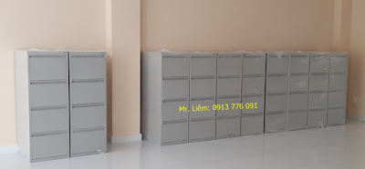 Tủ File Treo Hồ Sơ 4 Ngăn Kéo Đứng Godrej - 4DVFC