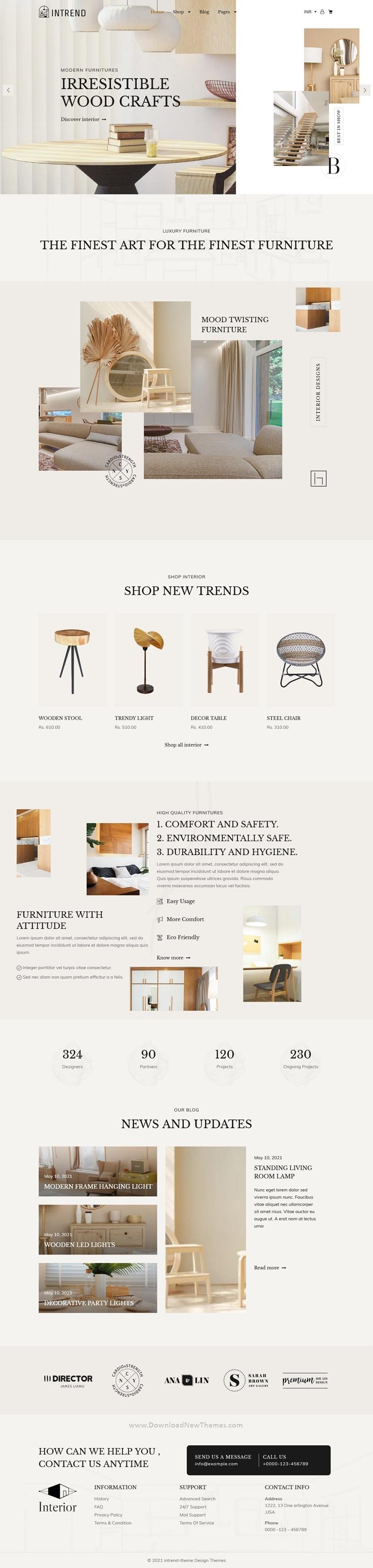 Furniture Store Modern Shopify Theme
