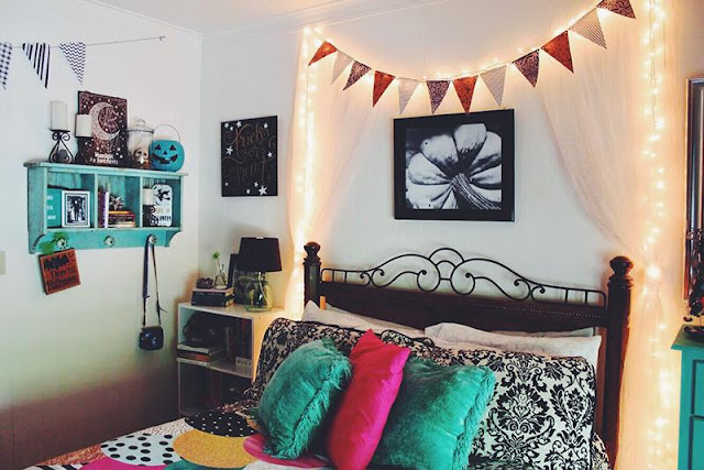 goth decor, dark decor, Halloween decor, whimspookal