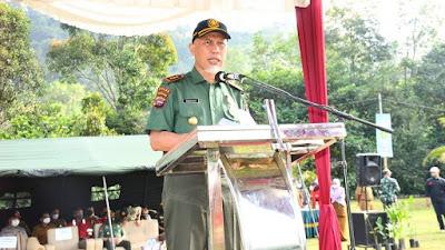 Gubernur Mahyeldi Instruksikan Jaga Kesiapsiagaan Karhutla Jelang Musim Kemarau