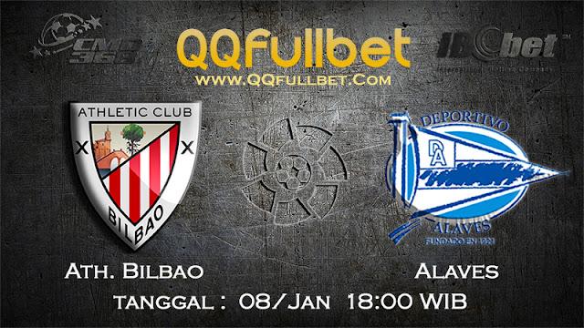 PREDIKSIBOLA - Prediksi Taruhan Bola Athletic Bilbao vs Alaves 08 Januari 2017 (La Liga Spanyol)