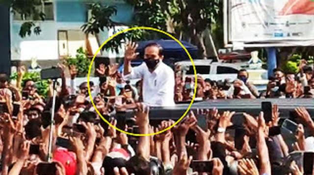 Masyarakat Anti Ketidakadilan Laporkan Jokowi ke Bareskrim terkait Kerumunan di NTT