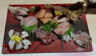 Sashimi  in Kanazawa