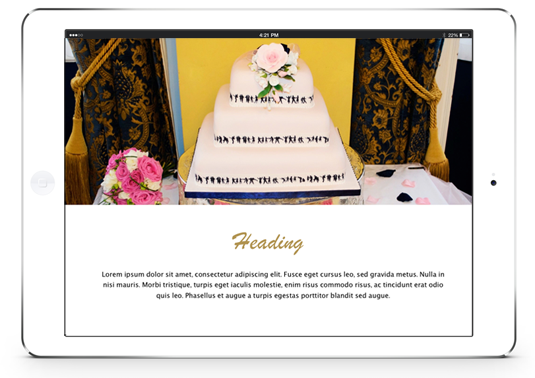 Wedding Book Template For iBooks Author - Includes 60+