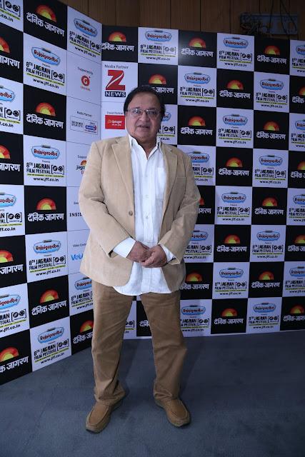 Actor Rakesh Bedi during the Jagran Film Festival (