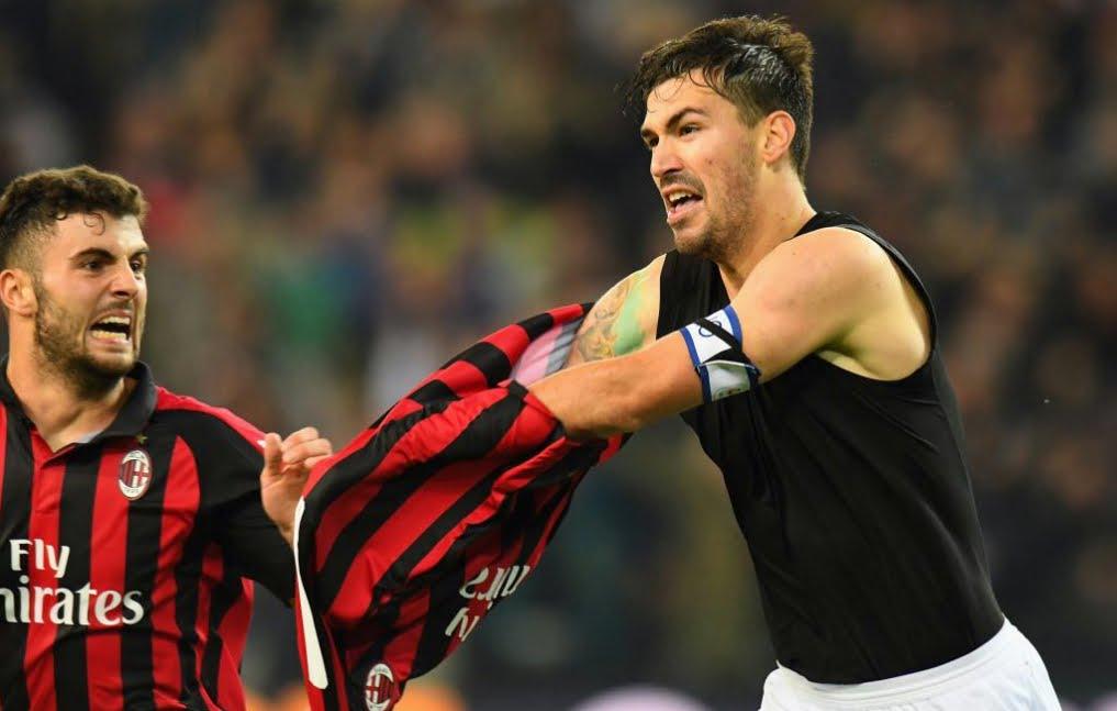 Udinese-Milan con finale thrilling: espulsione e gol partita al 97' di Romagnoli.