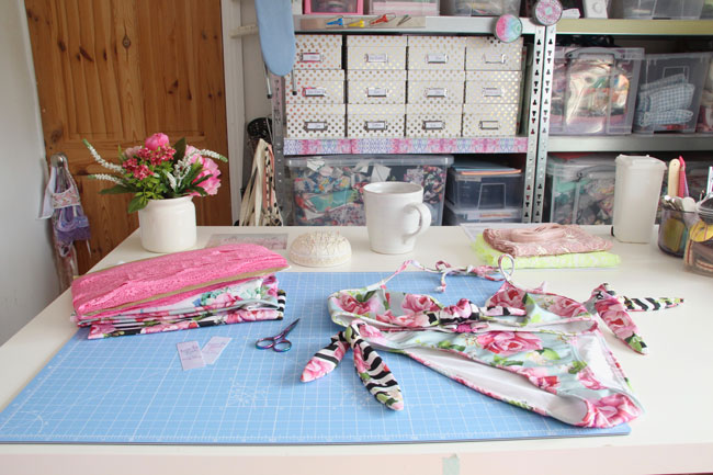 Evie La Lùve Sewing Space Tour