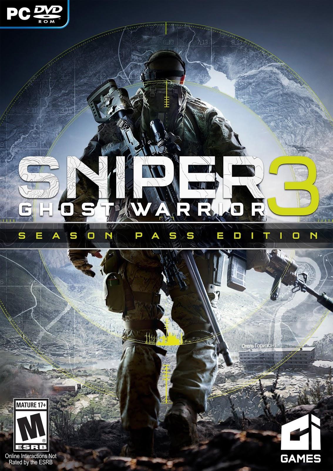 تحميل لعبة sniper ghost warrior 3 مضغوطة